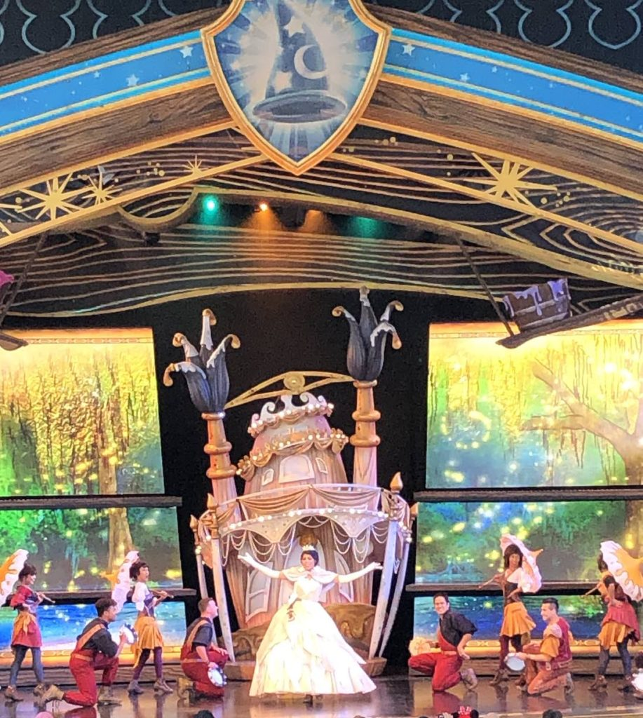 It S On Around Four Times A Day At The Fantasyland Theatre Next To Small World Check App For Up Date Show